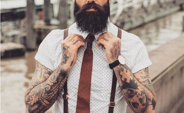 camisa y tirantes hombre